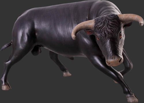 Fighting Bull Black / Fiberglass