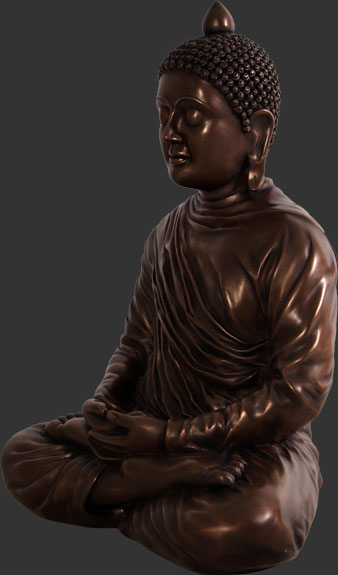 Divine Buddha in Bronze Finish