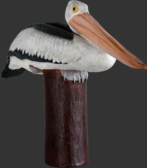 Pelican On Post / Fiberglass