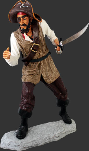 Pirate Captain One Eye with Base