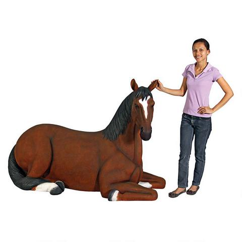 Resting Life Size Horse