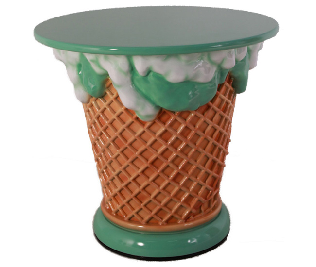 Ice Cream Table - Mint