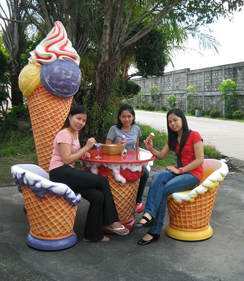 Ice Cream Chair - Mint