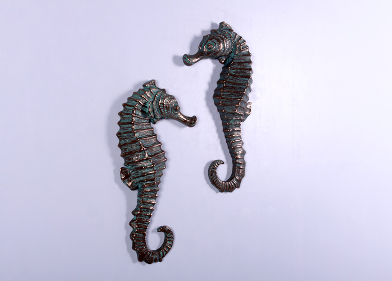 "Seahorse 24"" Wall Decor (Set of 2)"