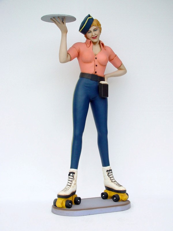 Roller Skater Girl / Waitress
