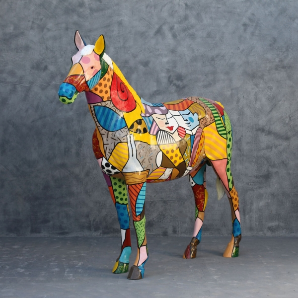 Popart Horse - Click Image to Close