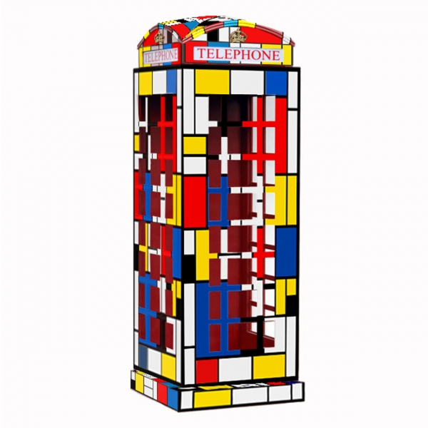 Mondriaan Telephone Booth