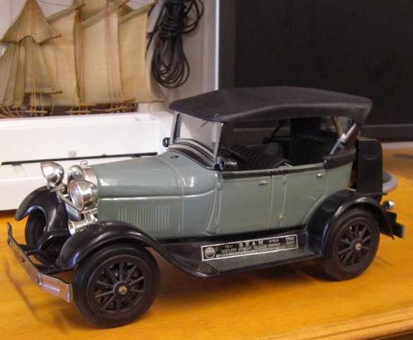 Jim Beam Car Decanter 1929 Ford Model - Click Image to Close