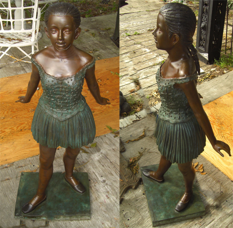 Bronze Ballet Dancer Statue