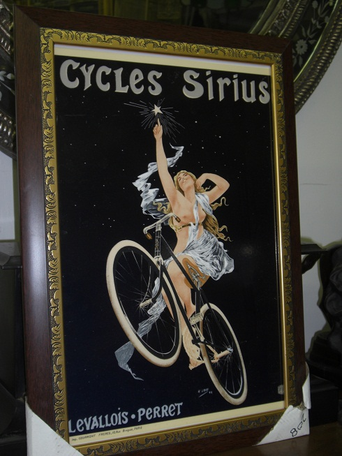 "Framed Poster with Glass - "" Cycles Siruis """