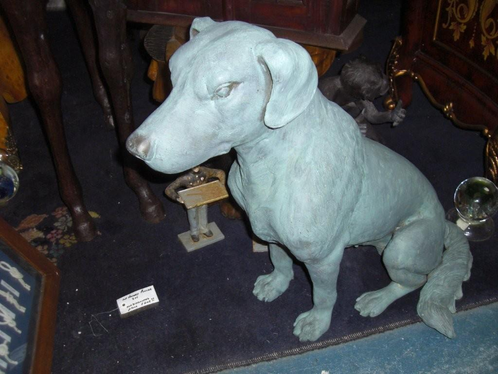 Bronze Labrador in Verdi Finish
