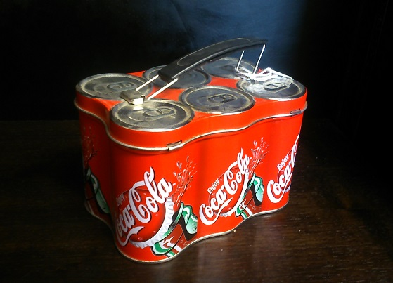 Coca-Cola Small Can Case Collectible