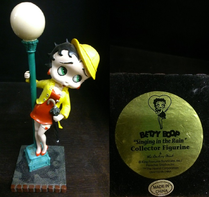 "Betty Boop ""Singing in the Rain"""