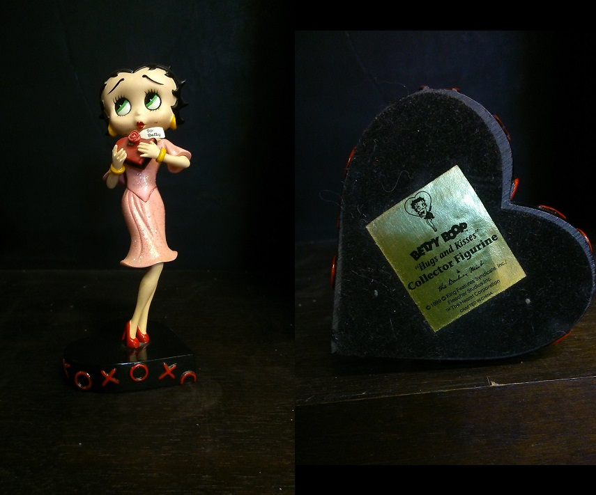 "Betty Boop ""Hugs and Kisses\"""