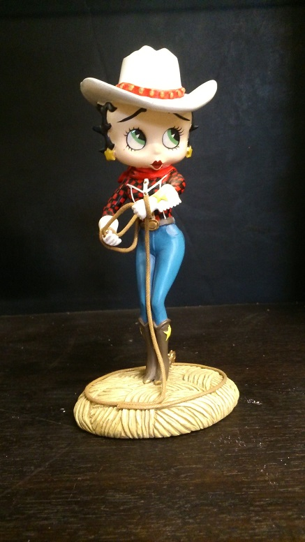 "Betty Boop ""Cowgirl"""