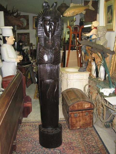 Wooden Pharaoh 6 ft discounted