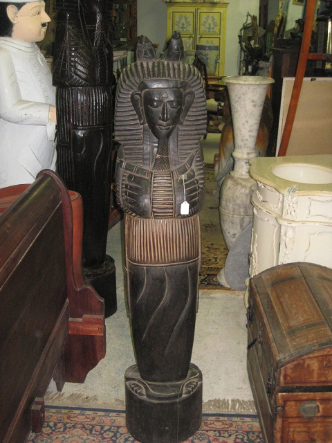 Wooden Pharaoh 4.9 ft discounted