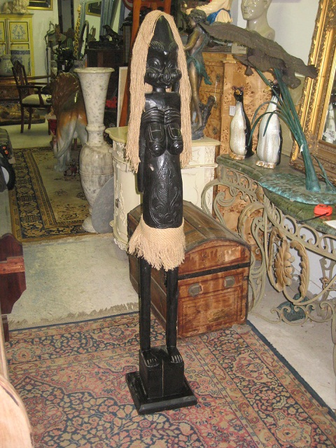 Primitive African Girl 6 ft - discounted