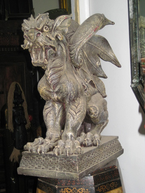 Gargoyle Statue discounted