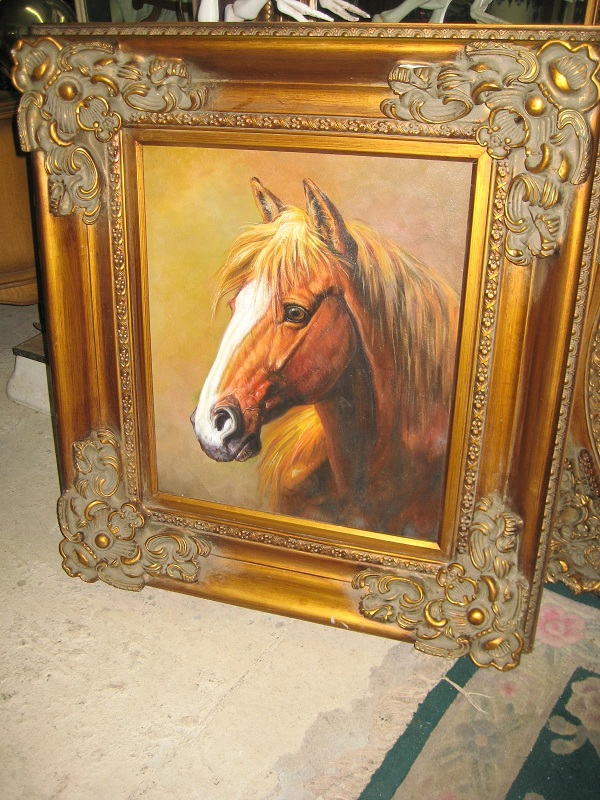 Oil painting Horse Head discounted