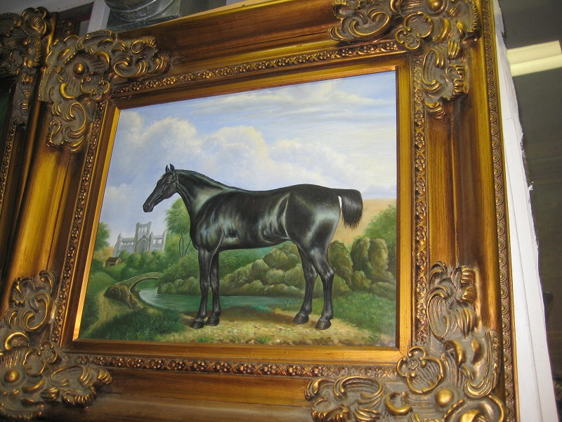 Oil painting Horse discounted