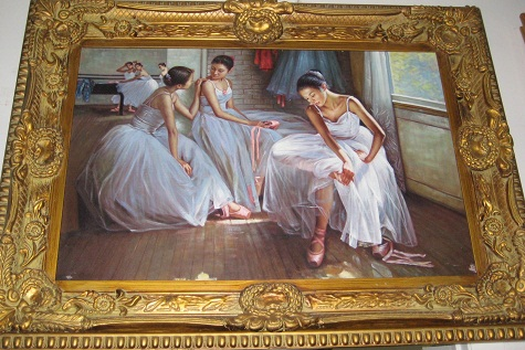 Oil Painting- Ballerinas