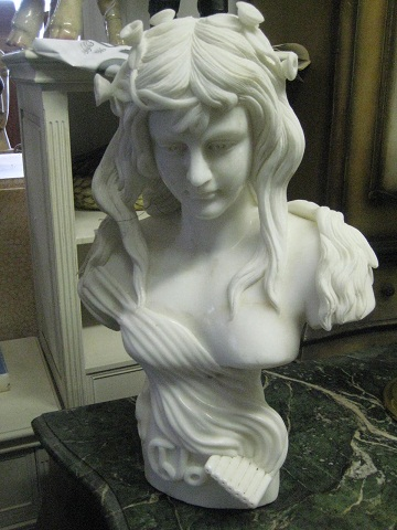 Marble Bust of Girl