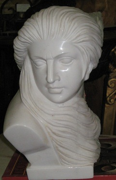 Marble Woman Face