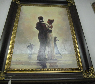 Oil Painting-Dancing Couples