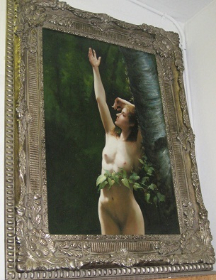 Oil Painting- Naked Lady