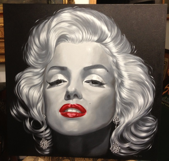 Marilyn Monroe Painting *CLOSE OUT PRICE*