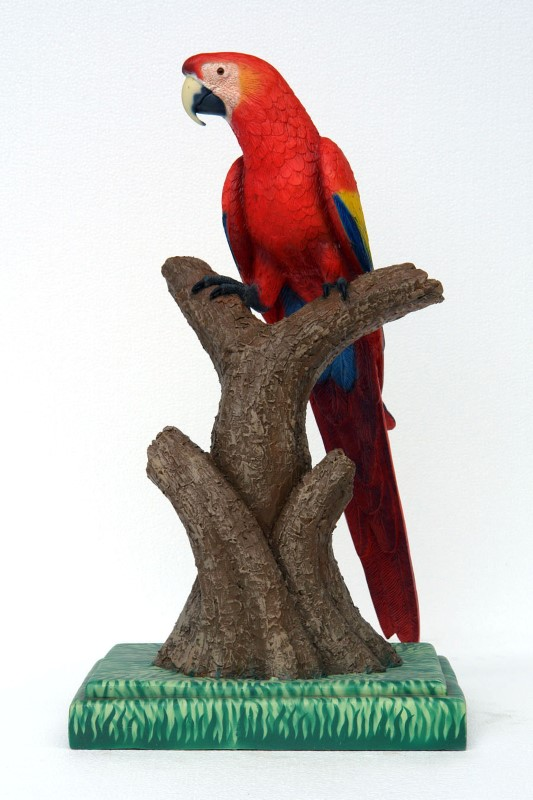 Scarlet Macaw (Head Up) 3ft.