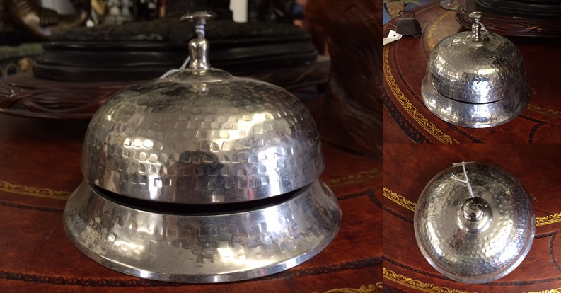 Chrome Platted Brass Bell