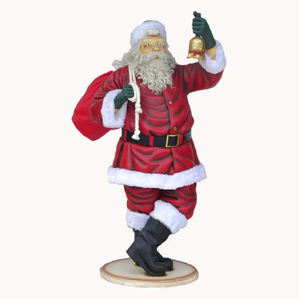 Santa Claus with Beard 6 Ft.
