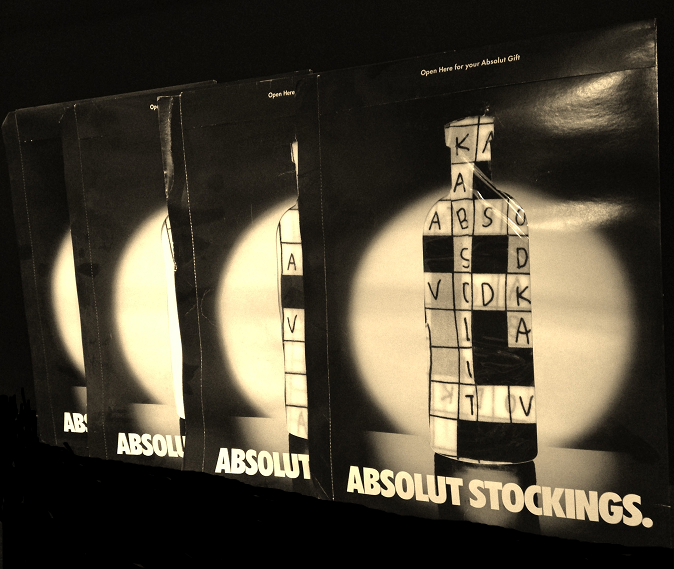 Absolut Vodka Women\'s Stockings