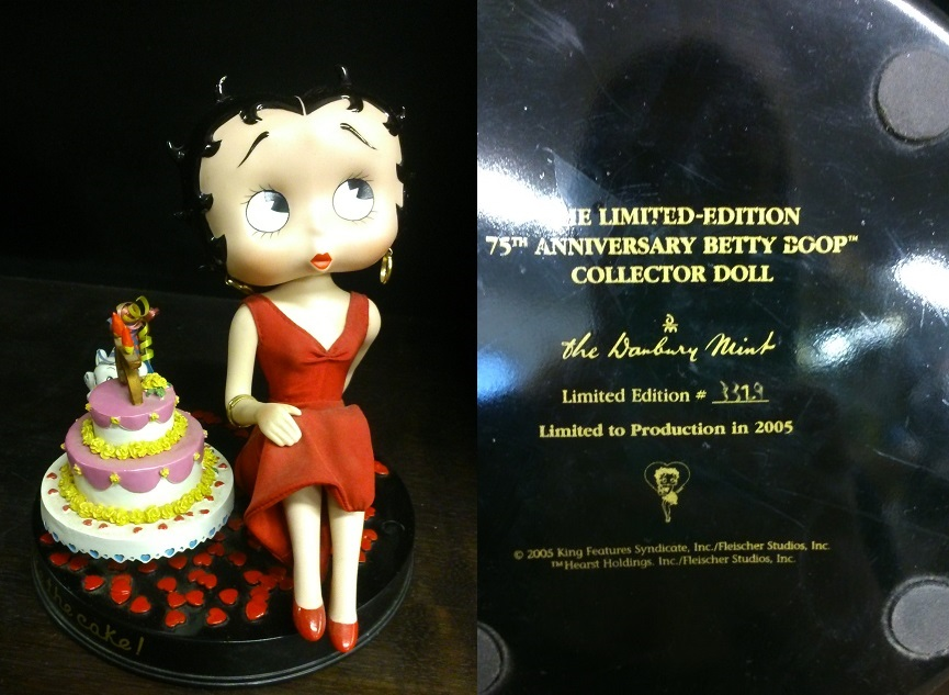 Betty Boop Birthday *Limited Edition*
