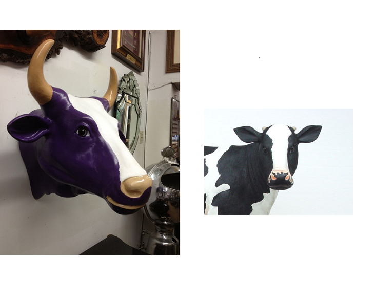 Milka Cow Head