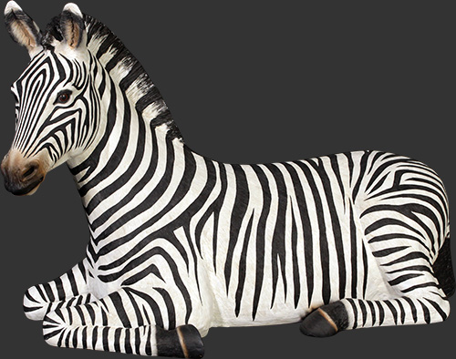 Zebra Resting - Click Image to Close