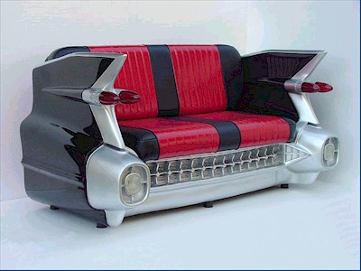 59 Cadillac Sofa (black)