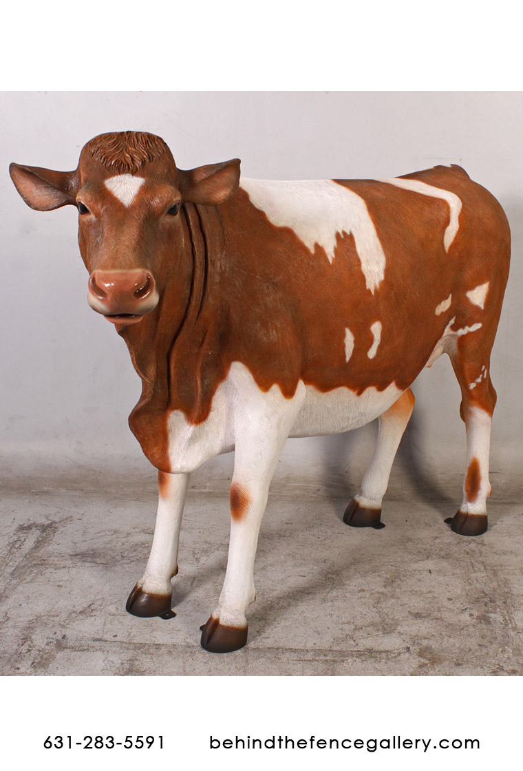 Guernsey Cow Statue