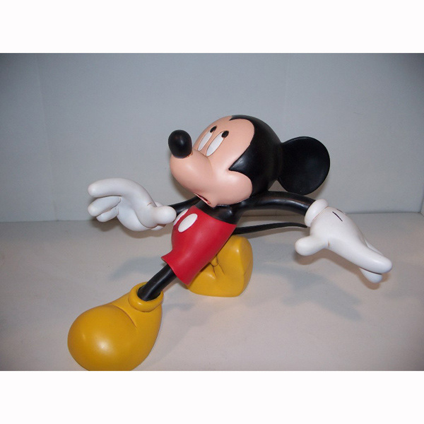 Cautious Mickey Mouse