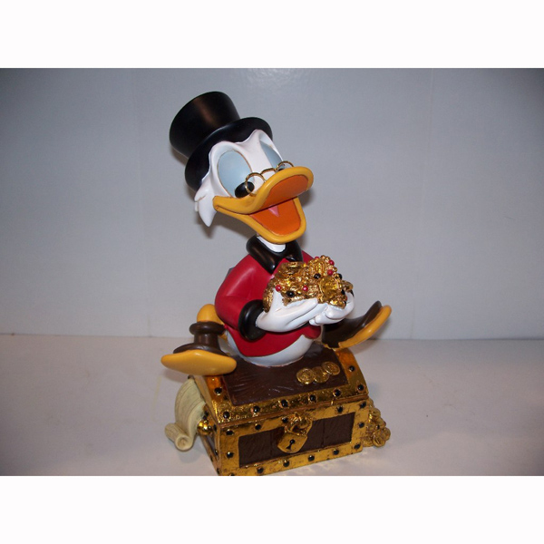 Scrooge McDuck with Treasure