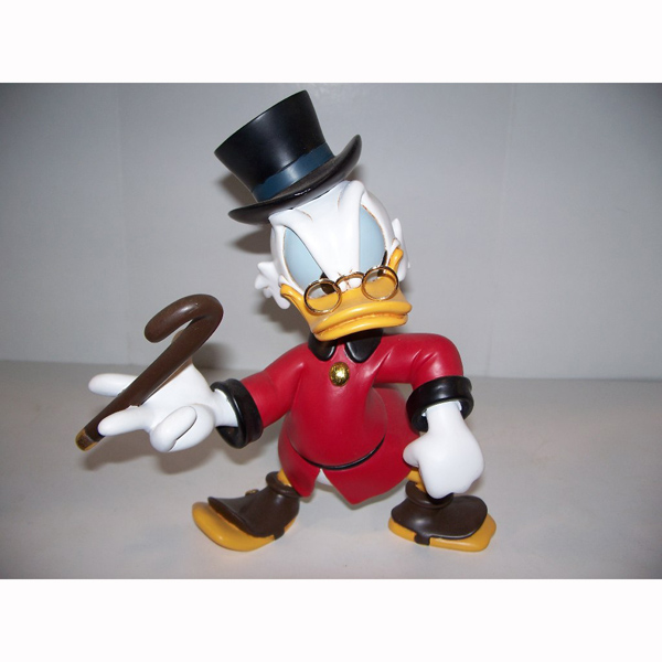 Scrooge with Cane