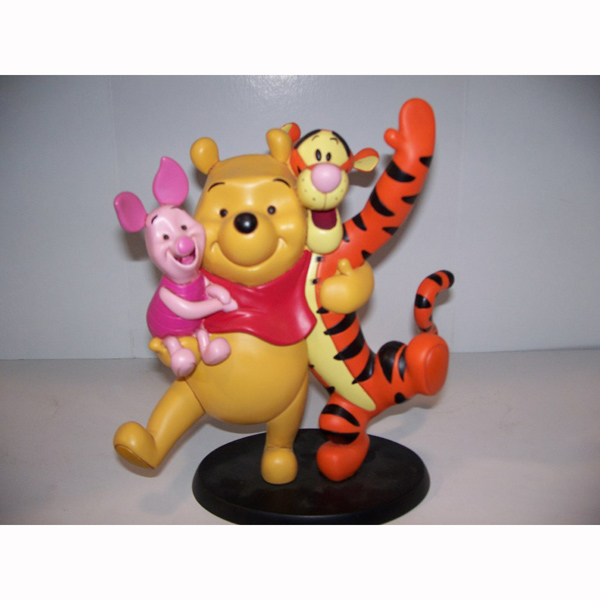 Happy Pooh Tigger and Piglet