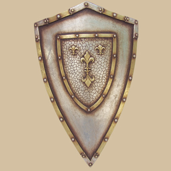 French Fleur De Lis Shield