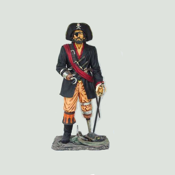 Pirate outdoor Fiberglass Statue animatronics animated motorized figure