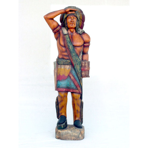 Wood Cigar Store Tobacco Indian