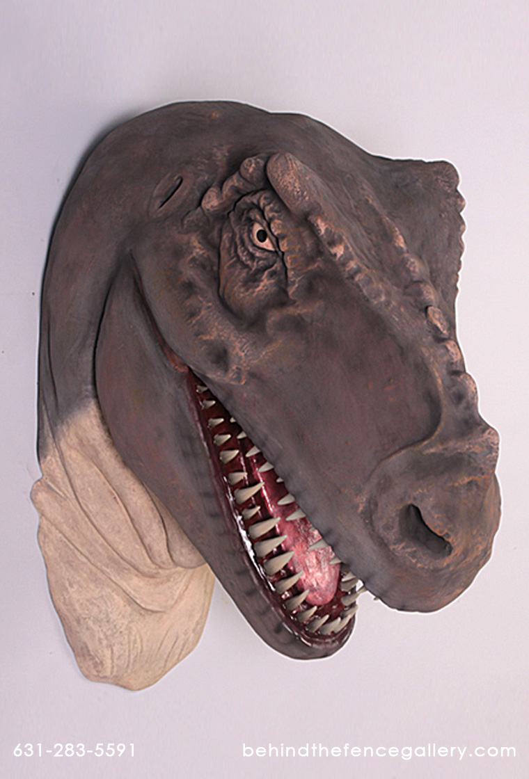 Jumbo Raptor Head Wall Mount