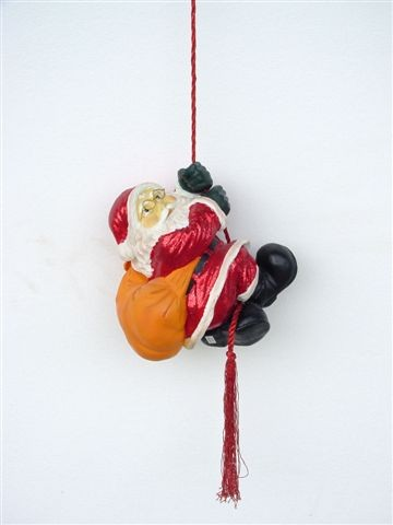 Small Santa on a Rope