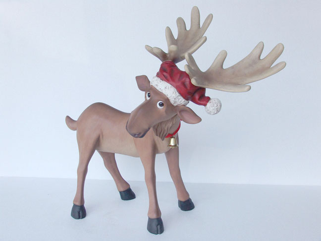 Funny Reindeer (Small)